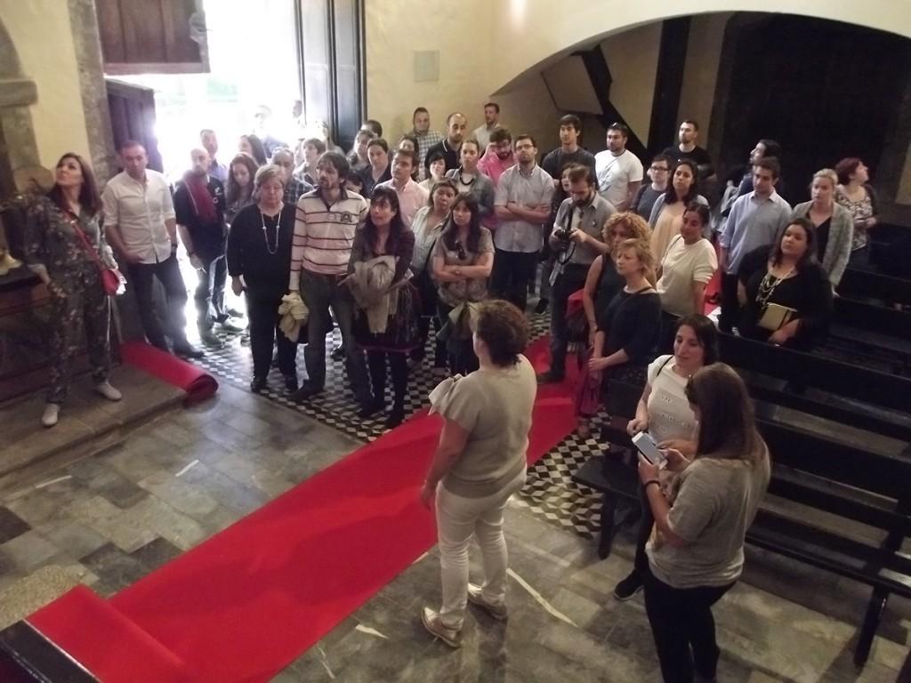 V Empacho Misterioso - Visita a la Iglesia del Palacio